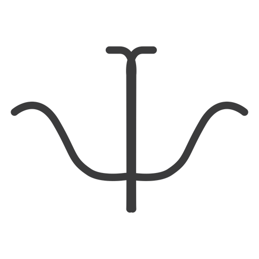 Hieróglifo sinal figura imagem simetria acidente vascular cerebral Transparent PNG