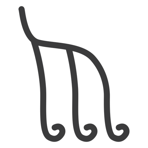 Trazo de figura de imagen de signo de jerogl?ficos