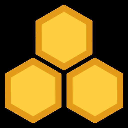 Symbol der Wabensechskant drei Transparent PNG