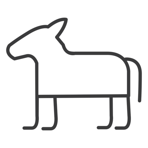 Horse donkey divinity stroke Transparent PNG
