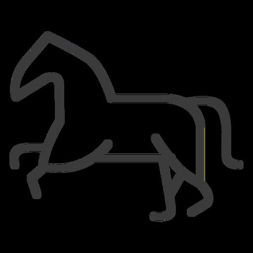 Curso de divindade de juba de rabo de cavalo Transparent PNG