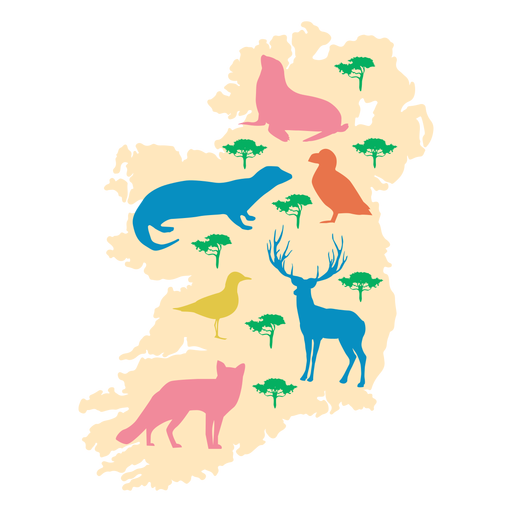 Irland Tierillustration Transparent PNG