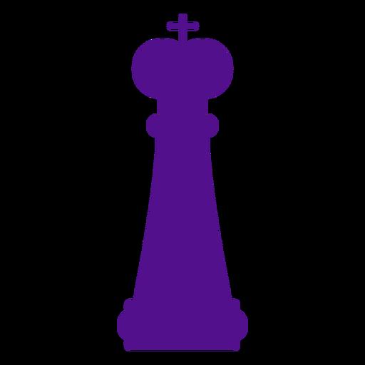Silhueta de xadrez rei Transparent PNG