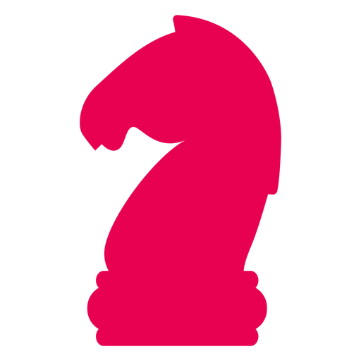 Knight chess silhouette Transparent PNG