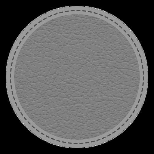 Insignia de línea de puntos de cuero Transparent PNG