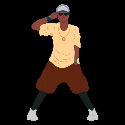 Personaje raper hip hop personaje Transparent PNG