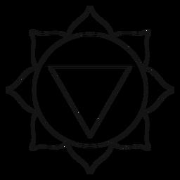 Manipura chakra icon