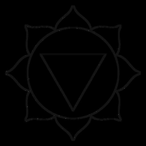 Manipura chakra icon Transparent PNG