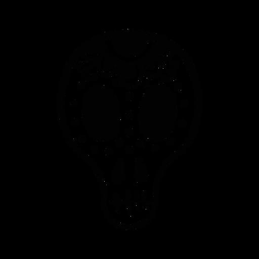Mask skull cranium nostril eye mouth hole spot sketch