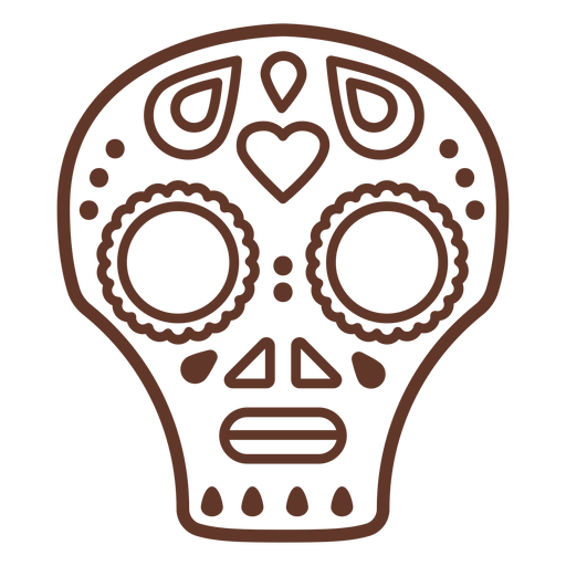 Mask skull cranium stroke