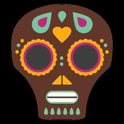 Mask skull craniumflat