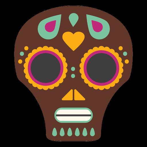 Mask skull craniumflat Transparent PNG