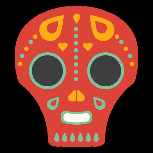 Mask skull flat Transparent PNG