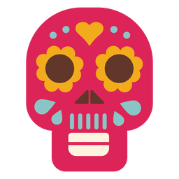 Flache Ikone der Maske