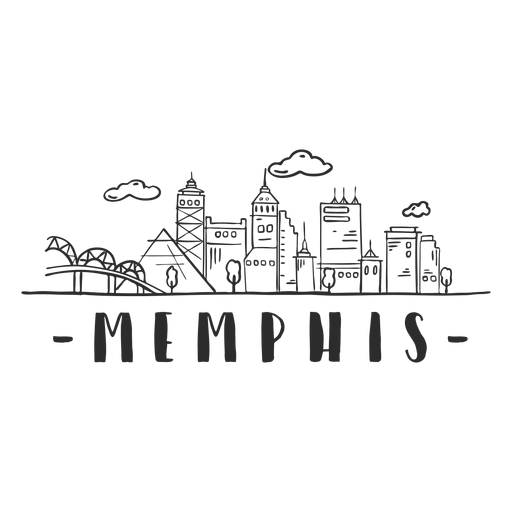 Memphis bridge spire pyramid sky scraper dome mall business center nube skyline sticker Transparent PNG
