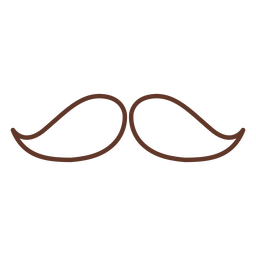Moustache pair two stroke