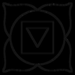 Muladhara chakra icon