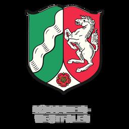 Nordrhein westfalen crest