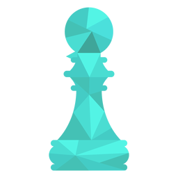 Pawn chess low poly