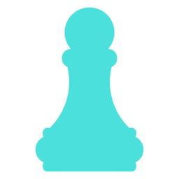 Pawn chess silhouette