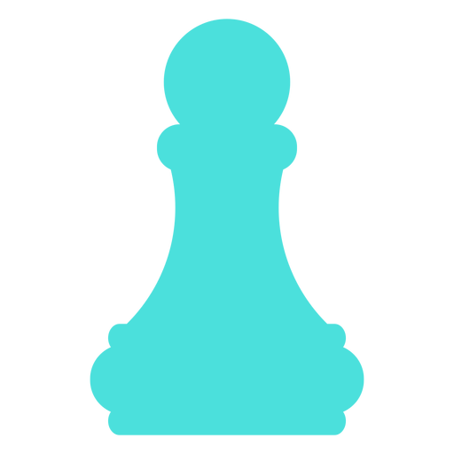 Pawn chess silhouette Transparent PNG