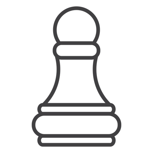 Pawn chess stroke Transparent PNG