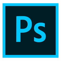Photoshop ps icono coloreado