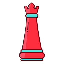 Reina ajedrez plana