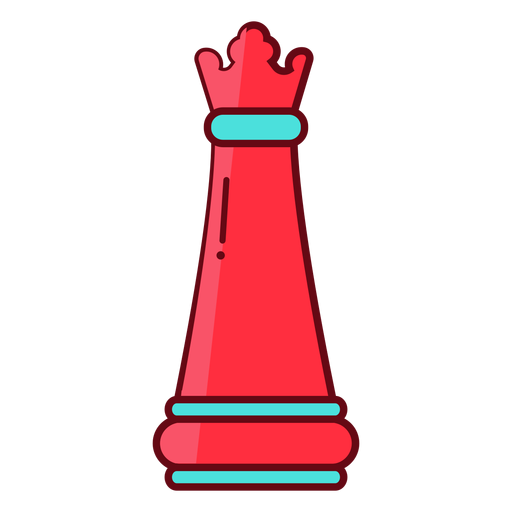 Rainha xadrez plana Transparent PNG