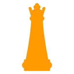 Queen chess silhouette