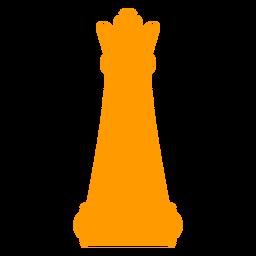 Silhueta de xadrez de rainha