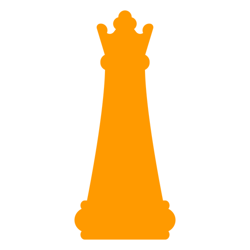Queen chess silhouette Transparent PNG