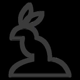 Kaninchenohr Tier Göttlichkeit Schlaganfall