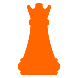 Rook castle chess silhouette