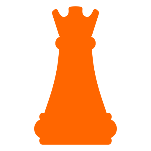 Rook castle chess silhouette Transparent PNG