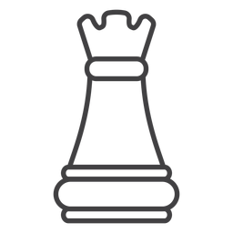 Rook castle chess stroke