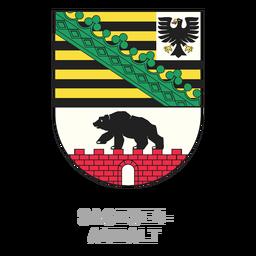 Sachsen anhalt crest