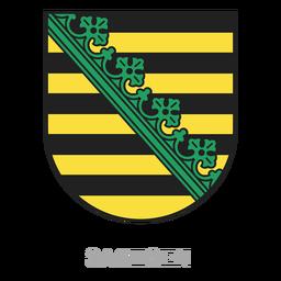 Crista da província de Sachsen