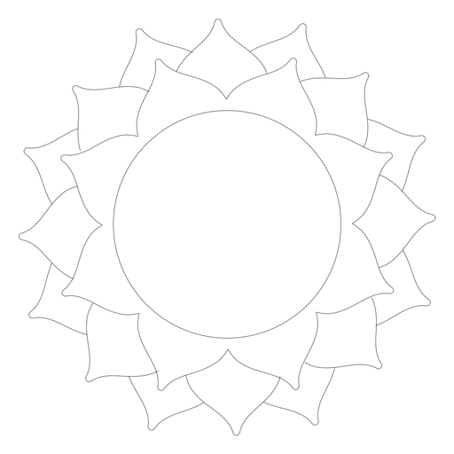 Sahasrara chakra icon Transparent PNG