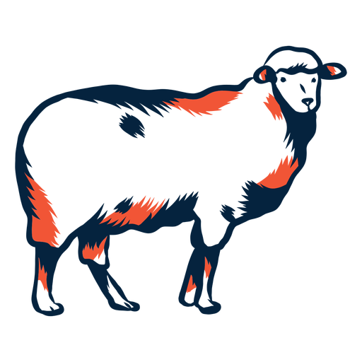 Sheep illustration Transparent PNG
