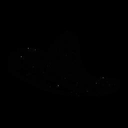 Trazo de ala sombrero