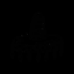 Sombrero fringe sketch