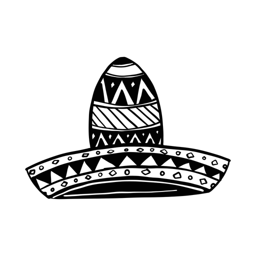 Sombrero ilustración silueta Transparent PNG