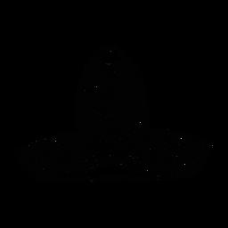 Trazo de patrón de sombrero