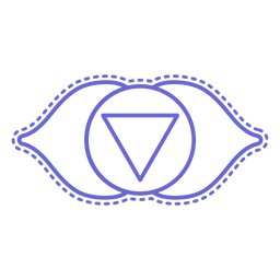 Schlaganfall-Chakra-Symbol