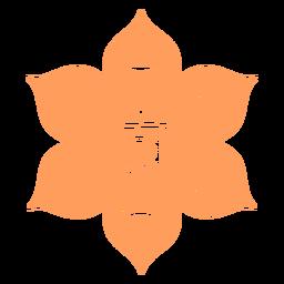 Ícone do chakra Svadhishthana