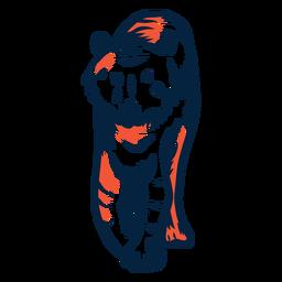 Tigre ilustración tigre