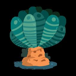 Árbol hoja tronco tronco raya pluma ilustración
