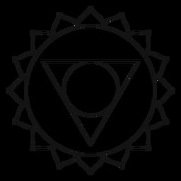 Vishuddha chakra icon