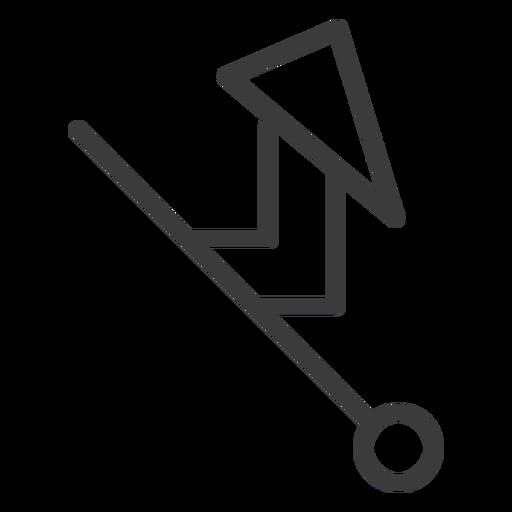 Curso de triângulo de círculo de varinha Transparent PNG